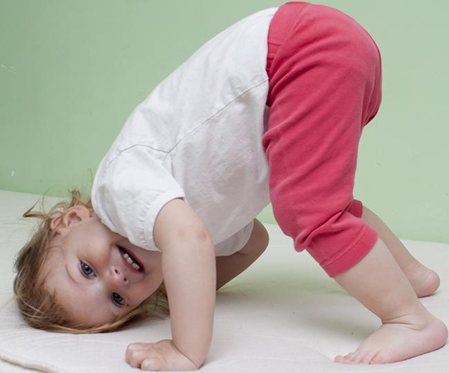 Babé en Taller de Yoga Kreaty Kids